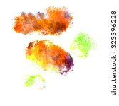 abstract watercolor painting...   Shutterstock . vector #323396228