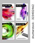 flyer | Shutterstock .eps vector #323402462