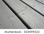 close up of composite decking... | Shutterstock . vector #323459222