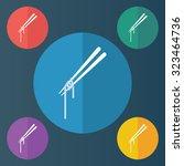 vector illustration of modern... | Shutterstock .eps vector #323464736