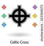 celtic cross vector...   Shutterstock .eps vector #323504072