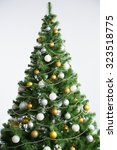 christmas tree  | Shutterstock . vector #323518775