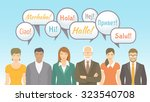 foreign language school for... | Shutterstock .eps vector #323540708