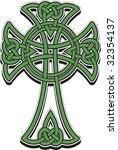 the celtic cross from the... | Shutterstock .eps vector #32354137
