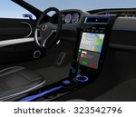 eelectric car console ui design ...