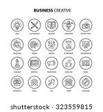business creative | Shutterstock .eps vector #323559815