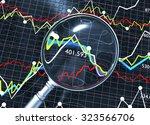 stock market analysis... | Shutterstock . vector #323566706