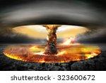 Постер, плакат: Nuclear Bomb Nuclear