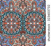 abstract vector seamless... | Shutterstock .eps vector #323603732