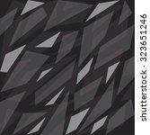 geometric camouflage pattern... | Shutterstock .eps vector #323651246