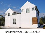 Mediterranean Style House - stock photo