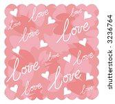 valentine design | Shutterstock .eps vector #3236764