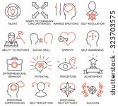 vector set of 16 icons related... | Shutterstock .eps vector #323703575