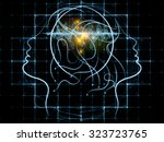 human tangents series. abstract ...   Shutterstock . vector #323723765