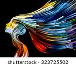 colors of imagination series.... | Shutterstock . vector #323725502