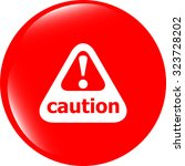 vector attention caution sign...