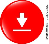 vector download icon. upload...