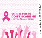 breast cancer awareness vector... | Shutterstock .eps vector #323753165