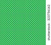 Green   White Polka Dot Pattern ...