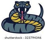viper snake | Shutterstock .eps vector #323794346