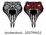 snake head | Shutterstock .eps vector #323794412