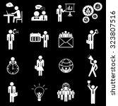 business finance management... | Shutterstock .eps vector #323807516