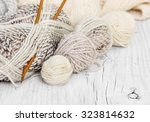 Skeins Of Wool And Knitting...
