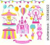 Amusement Park Vector Design...