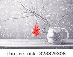 Christmas Tree Ornament Hanging ...