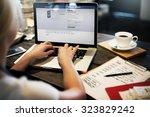 bangkok  thailand october 2... | Shutterstock . vector #323829242