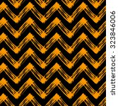 zig zag pattern for halloween | Shutterstock .eps vector #323846006