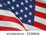 united states flag | Shutterstock . vector #3238846