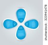 business infographics template... | Shutterstock .eps vector #323941478
