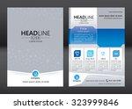 business brochure template.... | Shutterstock .eps vector #323999846