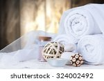 spa concept   still life with... | Shutterstock . vector #324002492