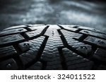 Winter Tires Photographed In...