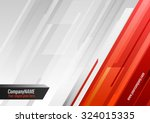 orange gray vector background...   Shutterstock .eps vector #324015335