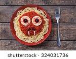 Halloween Scary Pasta Food...