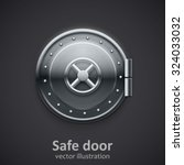 safe door | Shutterstock .eps vector #324033032