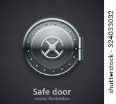 safe door | Shutterstock .eps vector #324033032