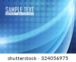 blue abstract background | Shutterstock .eps vector #324056975