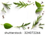 Spices And Herbs. Variety Of...