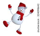 Funny Dancing Snowman ...