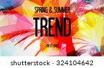 spring   summer   trend   best... | Shutterstock . vector #324104642