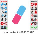 capsule vector icon. style is... | Shutterstock .eps vector #324161906