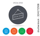 special offer icon. advertising ... | Shutterstock .eps vector #324172508
