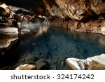 Famous Hot Spring Cave In...