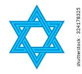 star of david | Shutterstock .eps vector #324178325