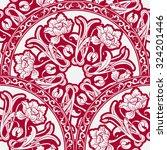 seamless pattern of circular... | Shutterstock .eps vector #324201446
