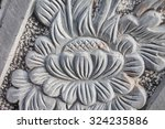 motifs on stone sculpture  in... | Shutterstock . vector #324235886
